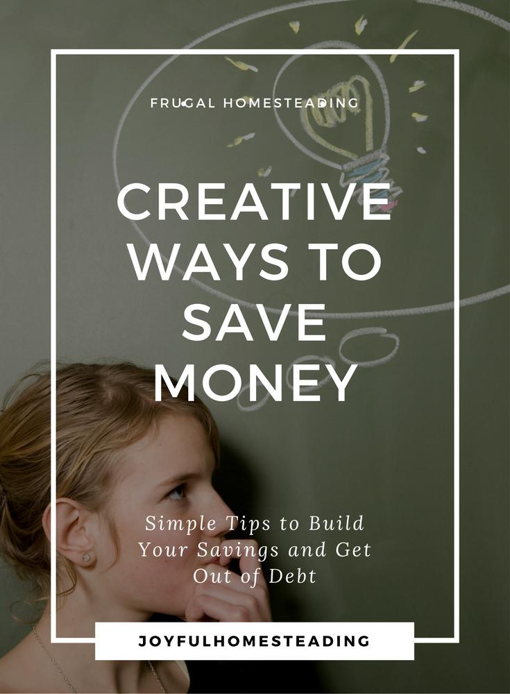 creative ways to save money. Black Bedroom Furniture Sets. Home Design Ideas